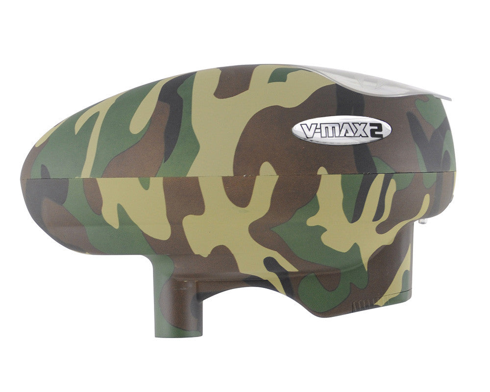 Valken V-Max 2 Paintball Loader - Woodland