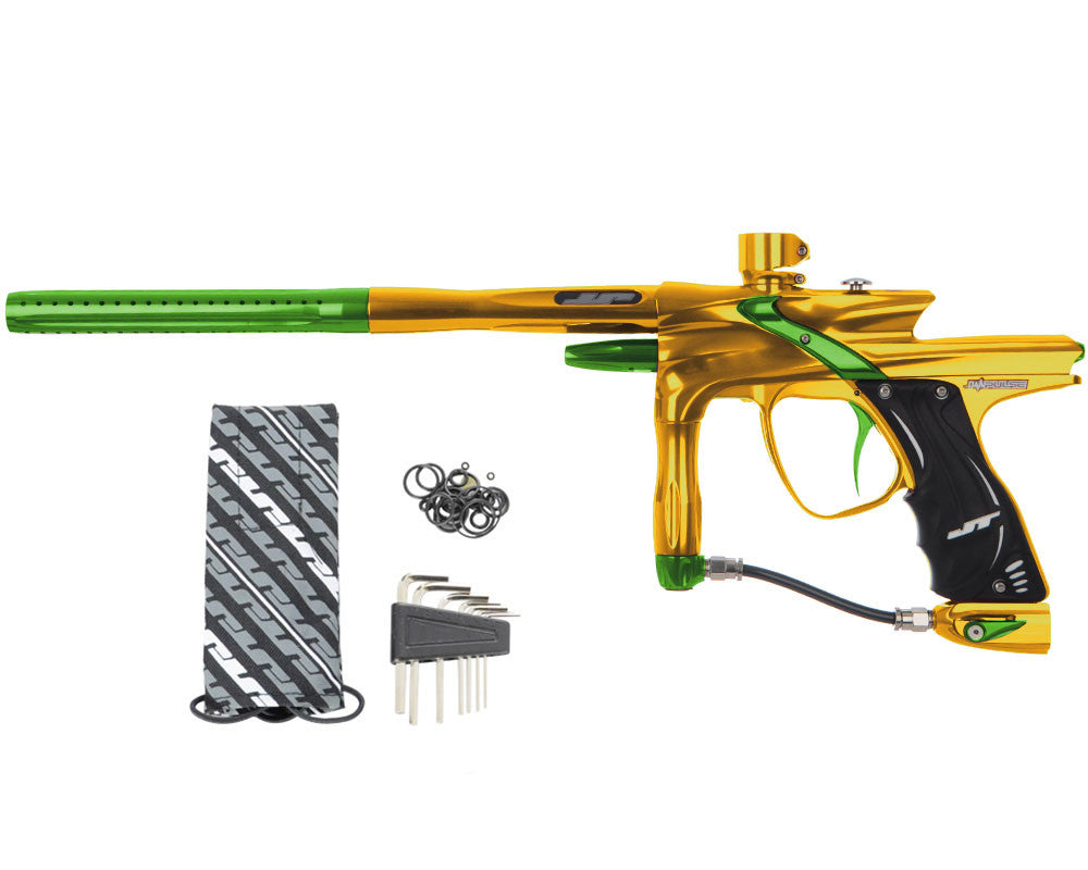JT Impulse Paintball Gun - Gold/Slime