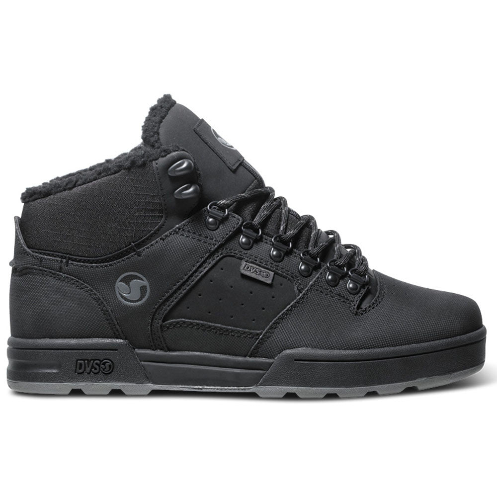 DVS Westridge - Black/Grey Leather Snow 006 - Skateboard Shoes