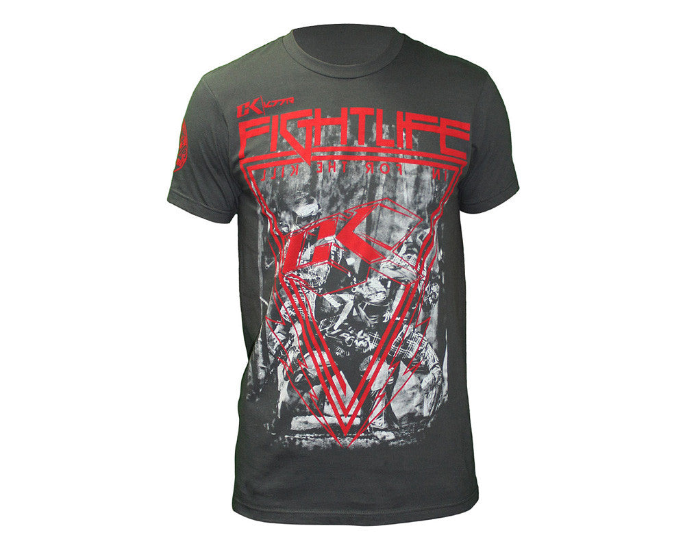 Contract Killer Off The Break T-Shirt - Charcoal