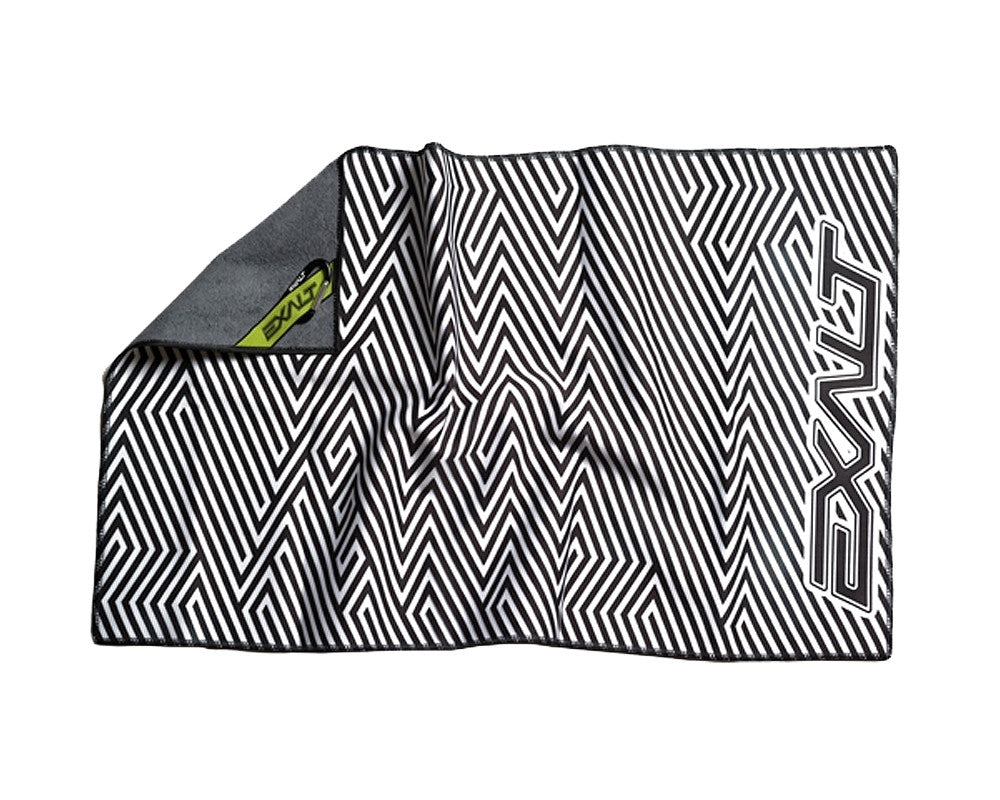 Exalt Microfiber Zig Zag Team Goggle Cloth - White