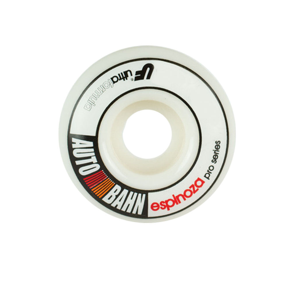 Autobahn Espinoza Rally Ultra - White - 51mm 83b - Skateboard Wheels (Set of 4)