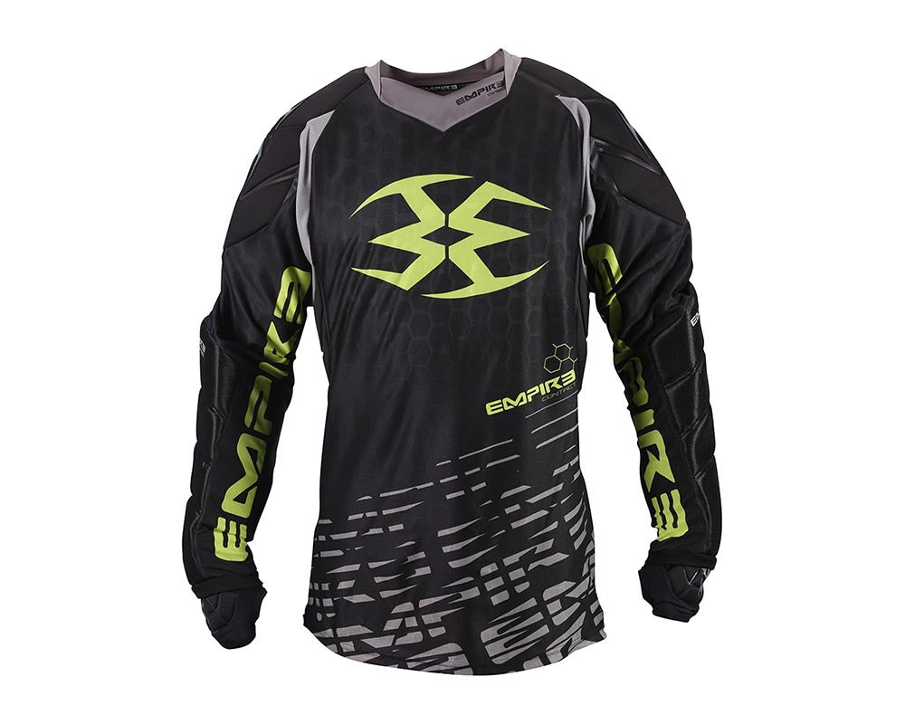 Empire 2015 Contact F5 Paintball Jersey - Black/Lime