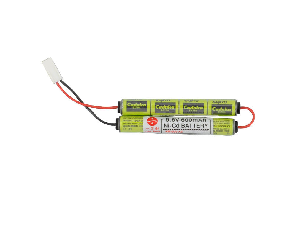 ANS Xtreme 9.6V 600mAh NiCAD Airsoft Battery - Butterfly