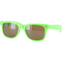 Chocolate Chunk Fluorescent Shades - Green - Sunglasses