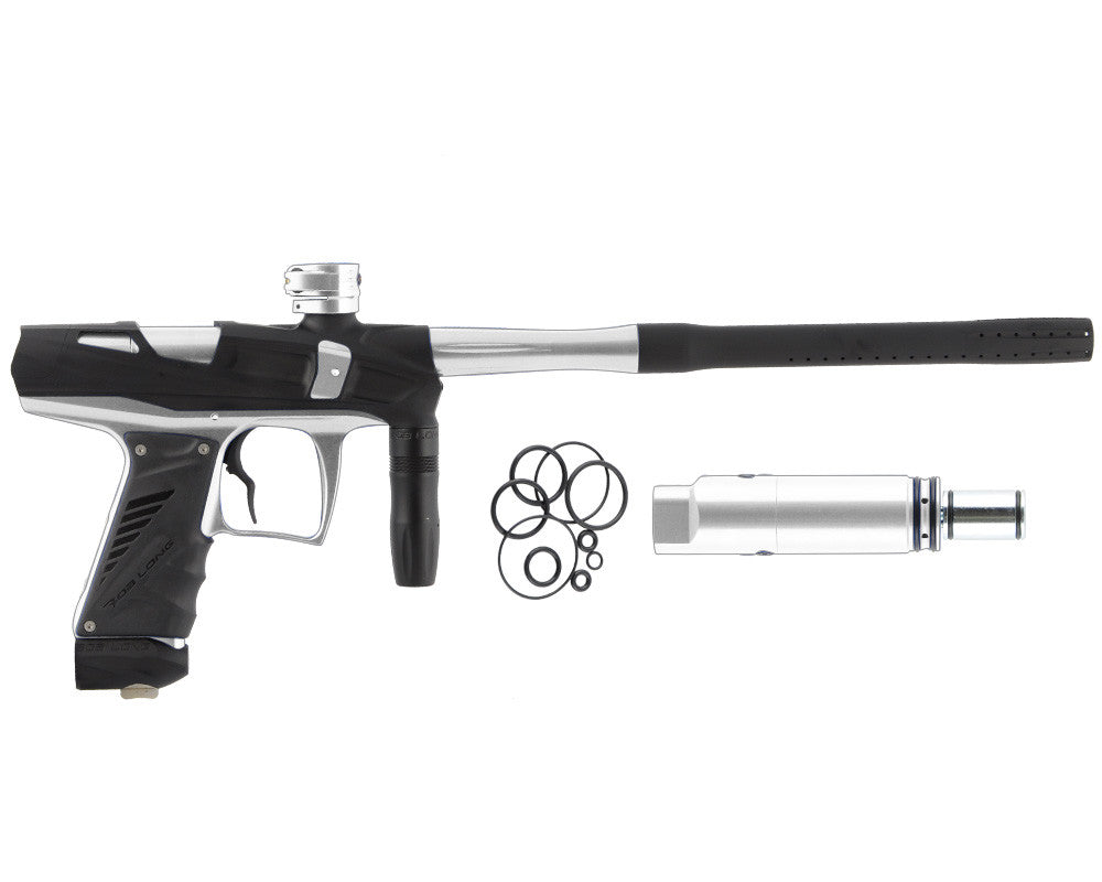 Bob Long Victory V-COM Paintball Gun - Dust Black/Silver