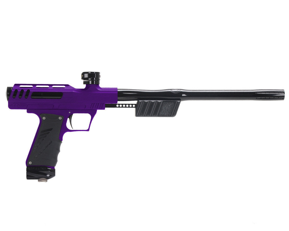 "Bob Long ""MVP"" Marq Victory Pump Paintball Gun - Dust Purple w/ Black"