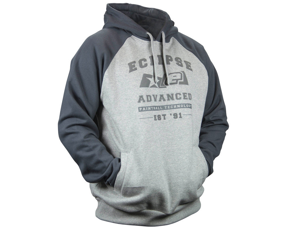Planet Eclipse 2014 Campus Hooded Sweatshirt - Grey/Charcoal