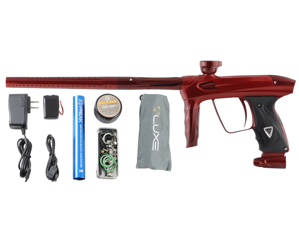 DLX Luxe 2.0 Paintball Gun - Pearl Red