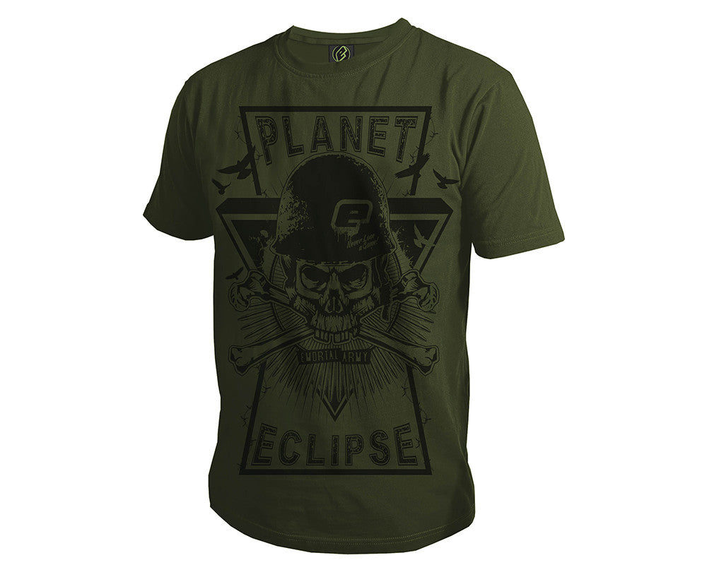 Planet Eclipse Men's 2014 Prism T-Shirt - Olive