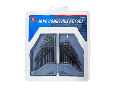 30-Pc. Hex Key Set