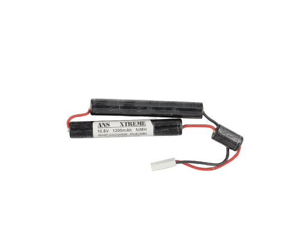 ANS Xtreme 10.8V 1200mAh NiMH Airsoft Battery - Stagger Type