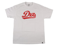 DVS League Script - White - Men's T-shirt
