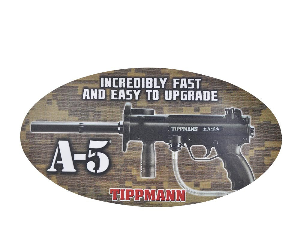 "Tippmann A5 Sticker - 15 1/2"" x 8 1/2"""