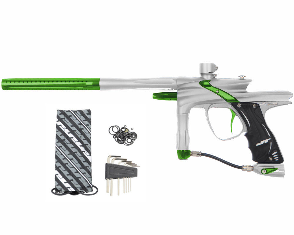JT Impulse Paintball Gun - Dust Silver/Slime
