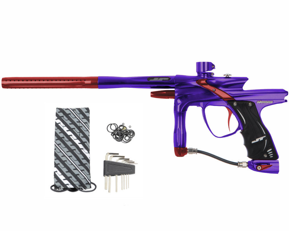 JT Impulse Paintball Gun - Purple/Red