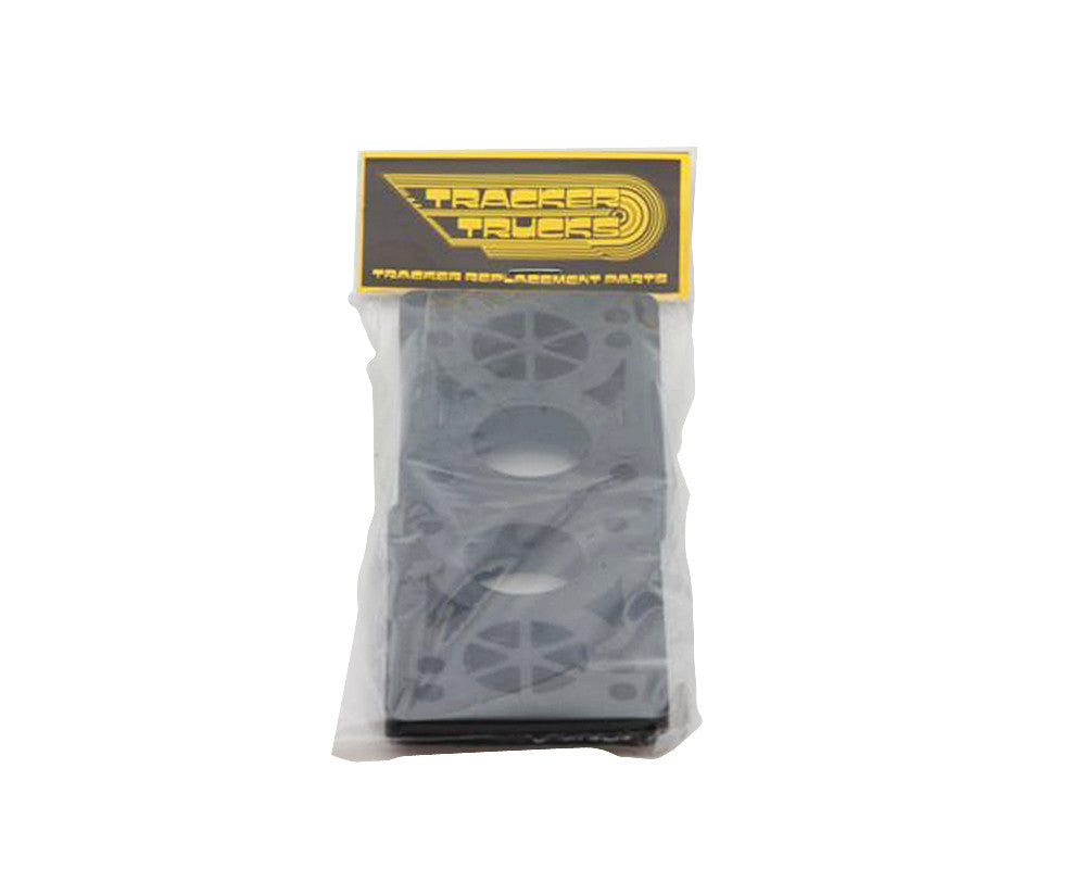 Tracker Rubber Wedge Pads  - Black - Skateboard Riser (2 PC)