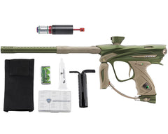 Dye DM13 Paintball Gun w/ CF Billy Wing Bolt - Olive/Tan