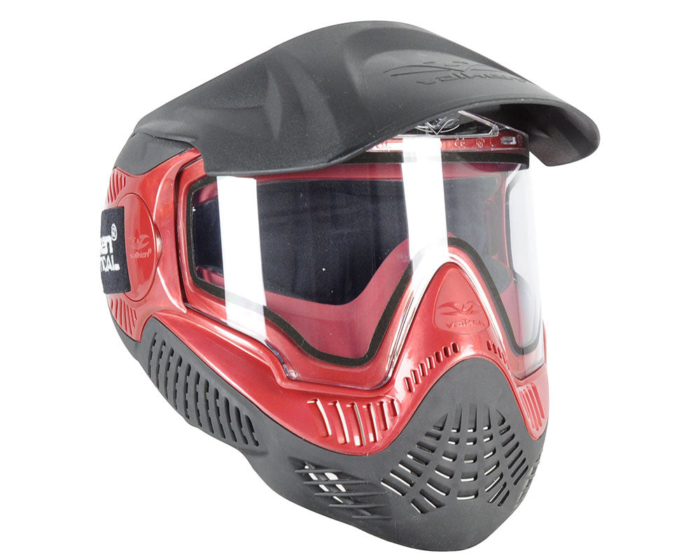 Valken Annex MI-9 Paintball Mask - Red