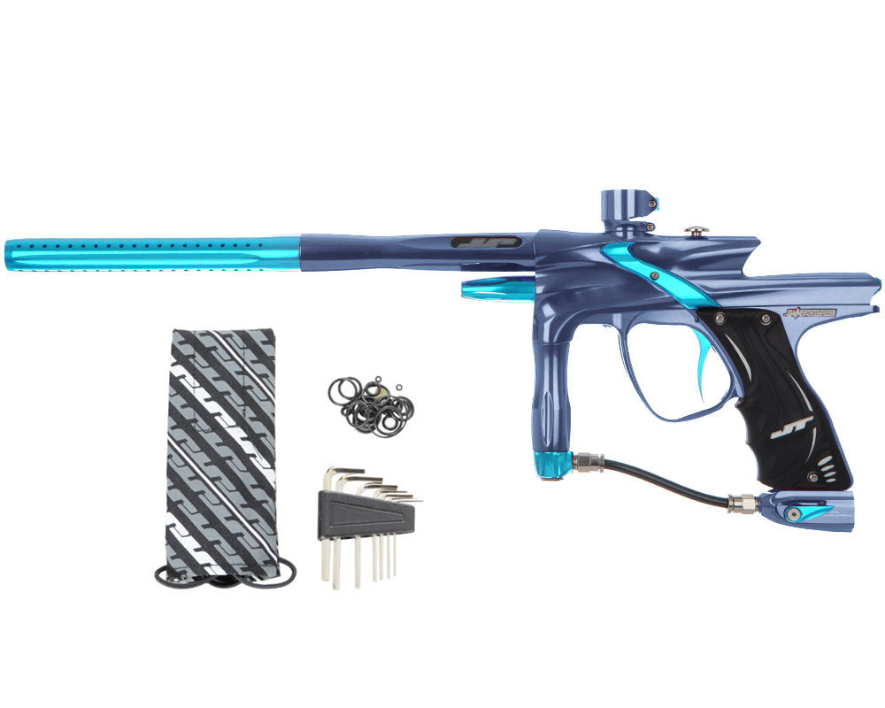 JT Impulse Paintball Gun - Gun Metal/Teal