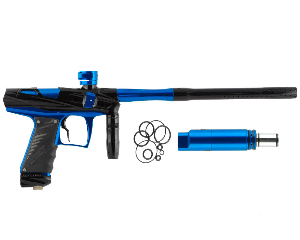 Bob Long Victory V-COM Paintball Gun - Black/Blue