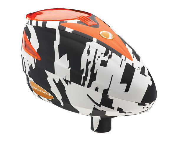 2014 Dye Rotor Paintball Loader - Airstrike Orange