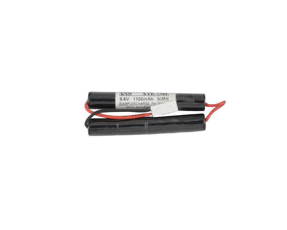 ANS Xtreme 9.6V 1100mAh NiMH Airsoft Battery - Butterfly