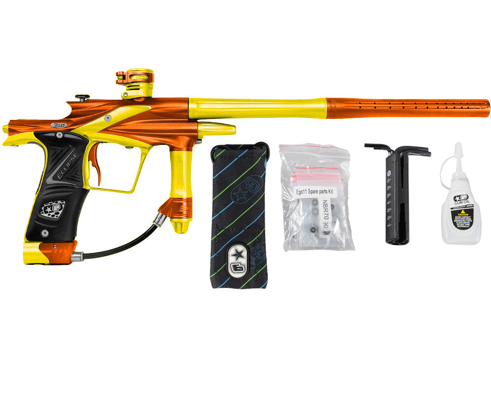 Planet Eclipse 2011 Ego Paintball Gun - Orange/Dust Yellow