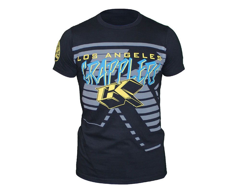 Contract Killer LA Grapplers T-Shirt - Black