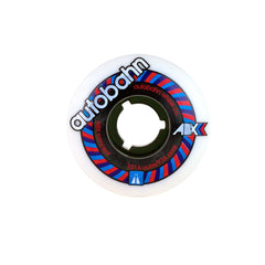 Autobahn ABX DD - White/Black Smoke - 51mm 101a - Skateboard Wheels (Set of 4)