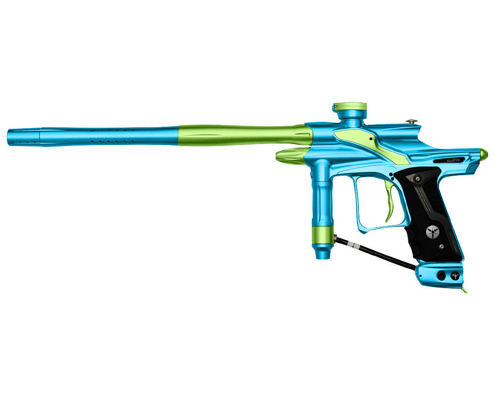 Dangerous Power Fusion FX Paintball Gun - Neon Green/Teal