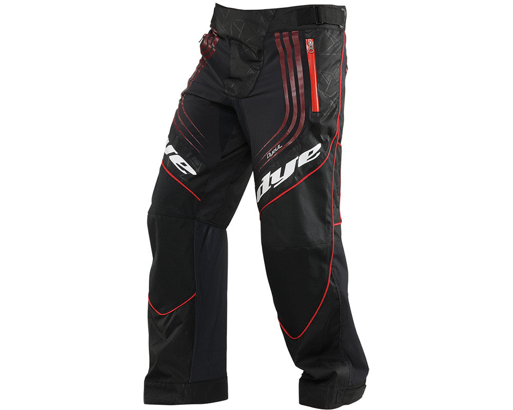 2014 Dye UL Paintball Pants - Black/Red