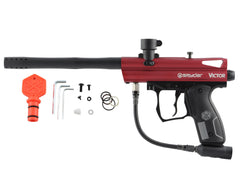2012 Kingman Spyder Victor Semi-Auto Paintball Gun - Hot Red