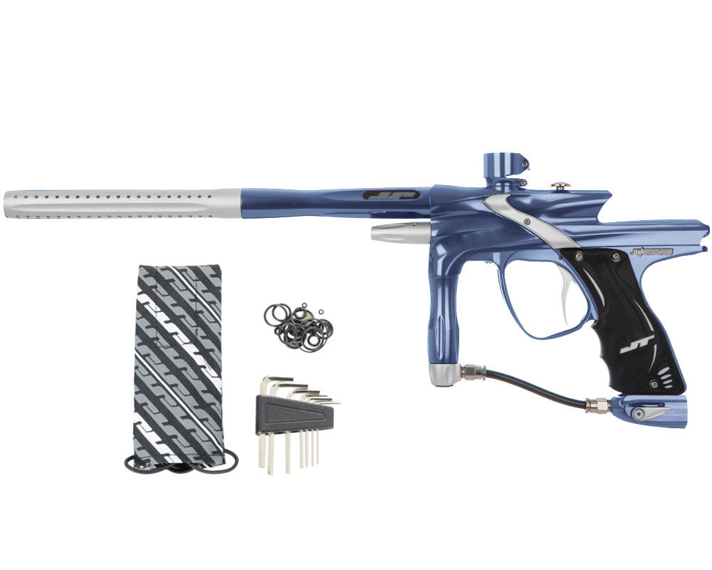JT Impulse Paintball Gun - Gun Metal/Dust Silver