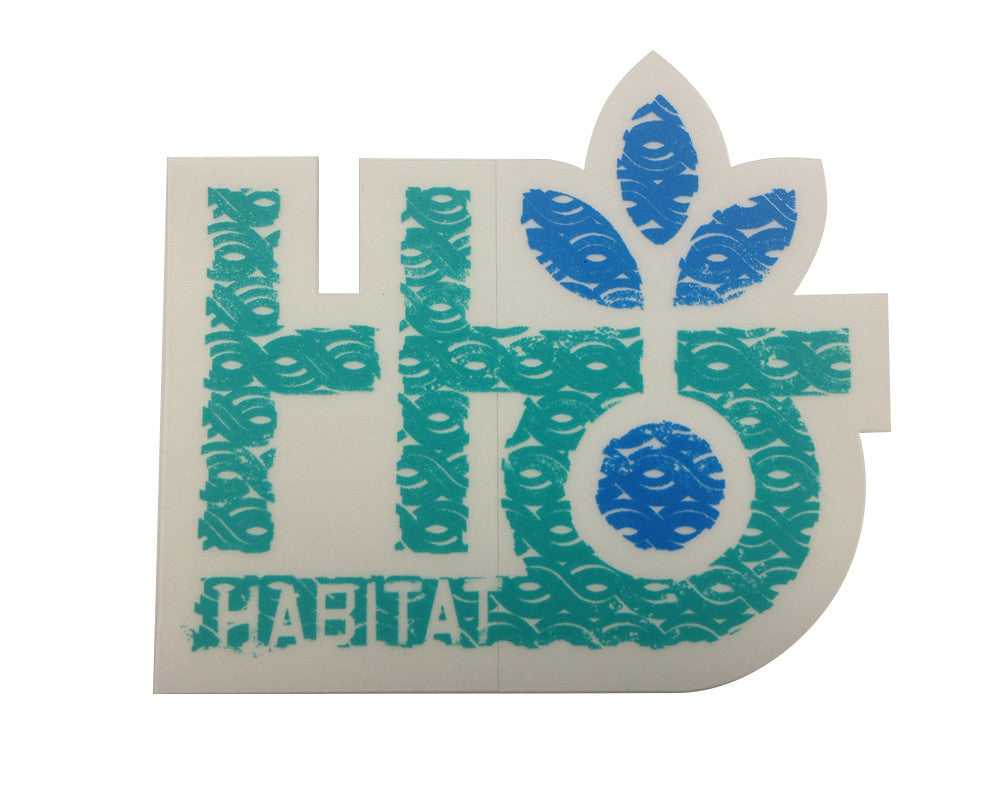 Habitat Pod Imprint - Sticker