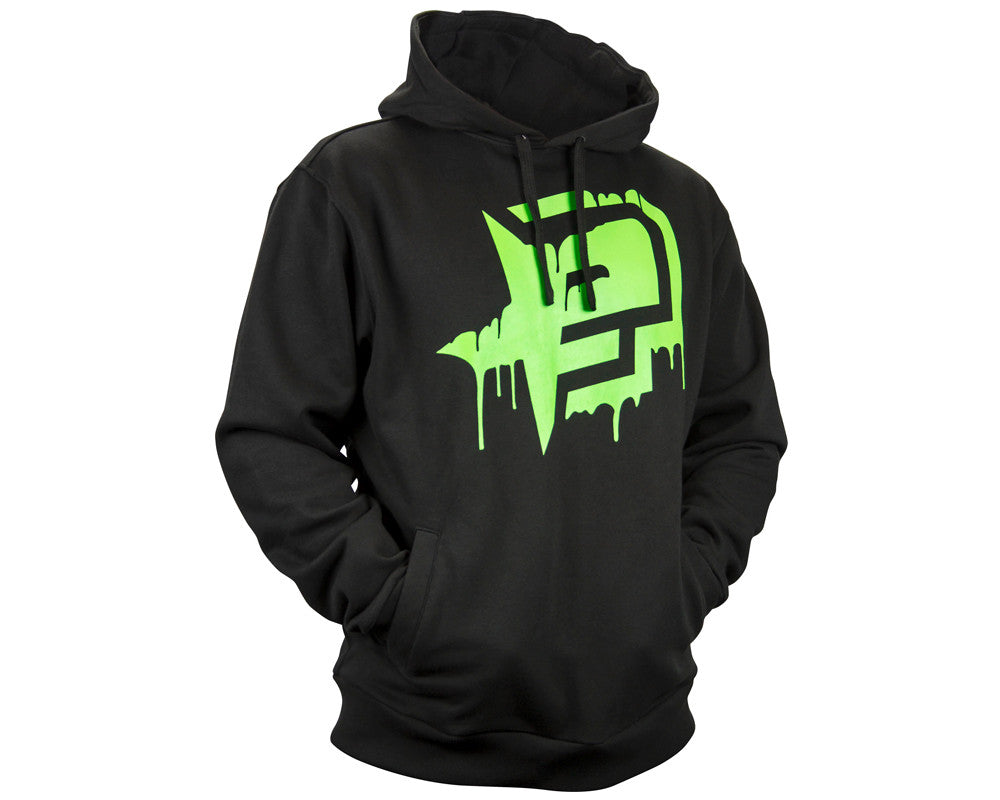 Planet Eclipse 2014 Rec Hooded Sweatshirt - Black/Green