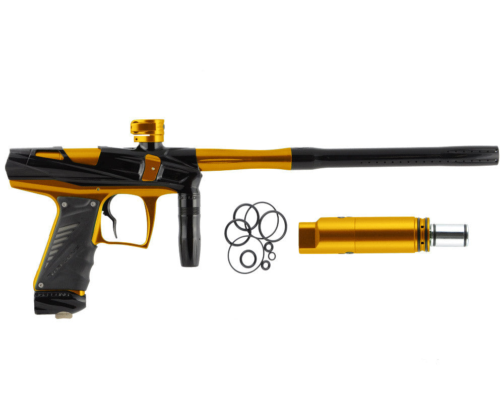 Bob Long Victory V-COM Paintball Gun - Black/Gold
