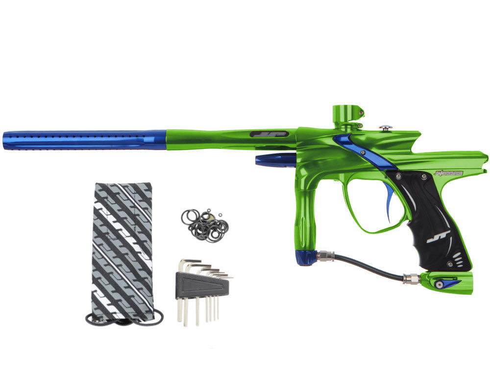 JT Impulse Paintball Gun - Slime/Blue