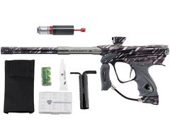 Dye DM13 Paintball Gun w/ CF Billy Wing Bolt - PGA Cubix Gray