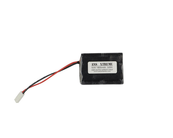 ANS Xtreme 9.6V 1800mAh NiMH Airsoft Battery - PEQ Box