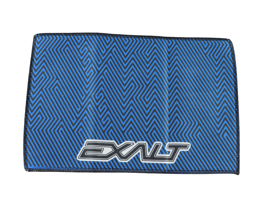 Exalt Microfiber Zig Zag Player Goggle Cloth - Cyan