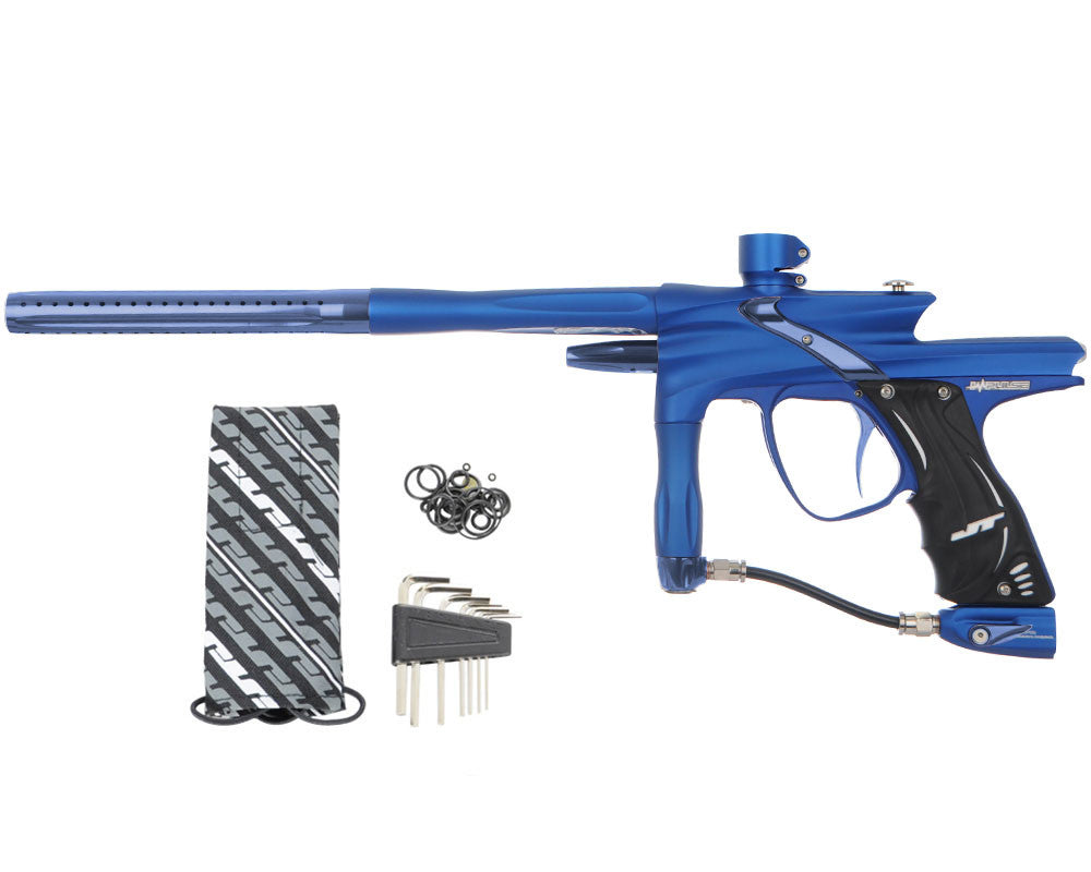 JT Impulse Paintball Gun - Dust Blue/Gun Metal
