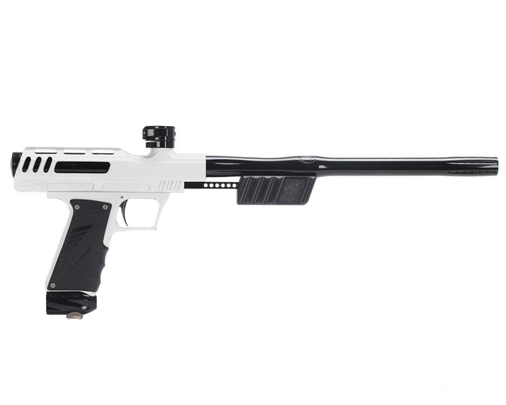"Bob Long ""MVP"" Marq Victory Pump Paintball Gun - Dust White w/ Black"