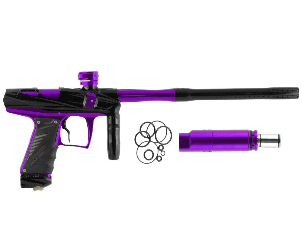 Bob Long Victory V-COM Paintball Gun - Black/Purple