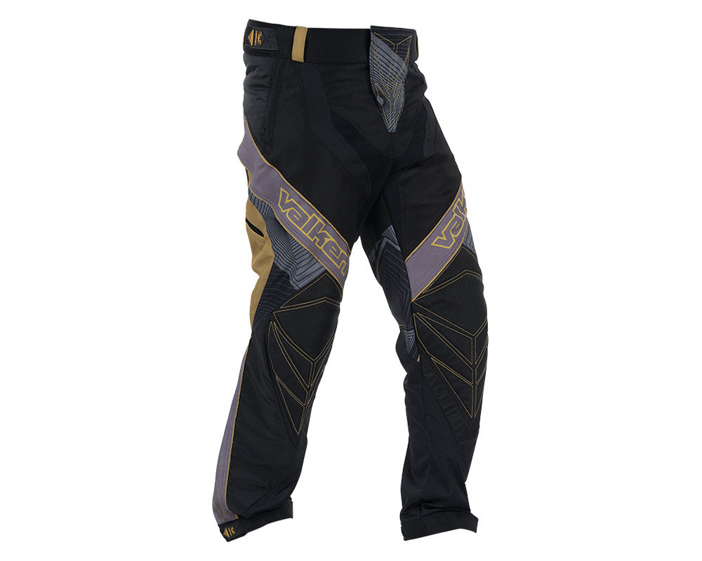 2015 Valken Redemption Vexagon Paintball Pants - Gold/Black