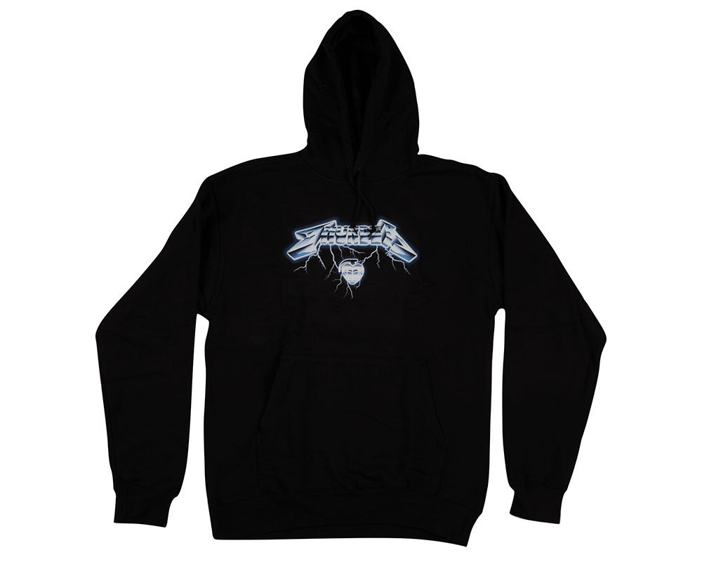 Thunder Ride The Thunder Hoodie - Black - Men's Sweatshirt