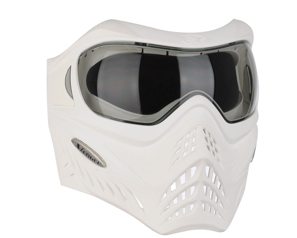 V-Force Grill Paintball Mask - SE White/White