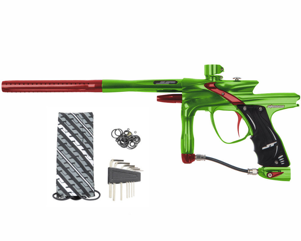 JT Impulse Paintball Gun - Slime/Red