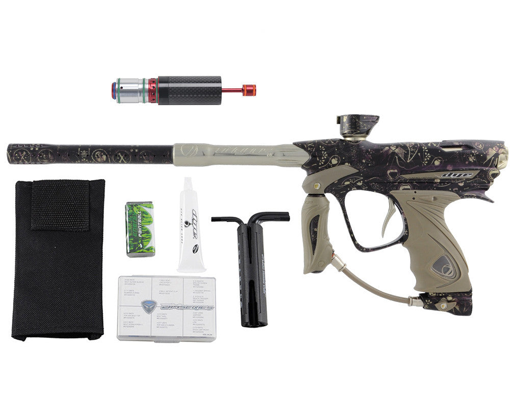 Dye DM13 Paintball Gun w/ CF Billy Wing Bolt - PGA Dye 1%