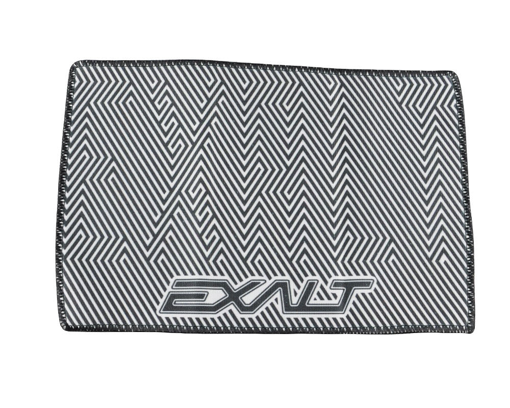 Exalt Microfiber Zig Zag Player Goggle Cloth - White